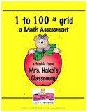 1 to 100 Grid, Skip Counting, 100 Chart, Number Sense, Mat