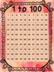 1 to 1000 Numeracy Counting Number Chart Pack - Watercolour Theme