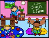 1 to 20 Count, Colour, Cut & Glue!