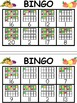 1 to 20 Fall Bingo