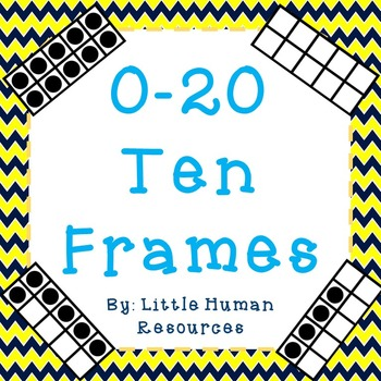 1 to 20 Ten Frames