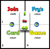1 to 40 Fry's/Sight Words ~ Card Game ~ 20 Cards + 10 + Board