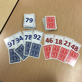 1 to 50 Number Cards