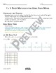 1 x 4 Digit Area Model Multiplication Math Video and Worksheet