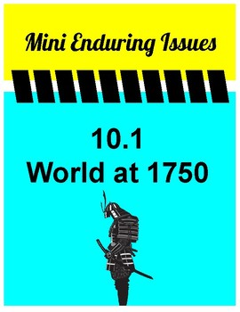 10.1 World at 1750 Mini Enduring Issue! Global 10 NYS