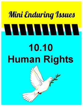 10.10 Human Rights Mini Enduring Issue! Global 10- NYS