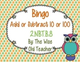 10 & 100 More or Less Bingo Game PPT with Blank Bingo Card