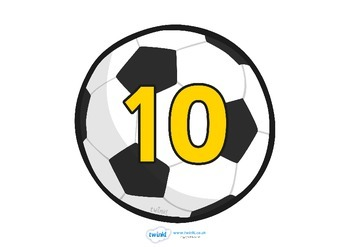 10-100 on Footballs (in tens)