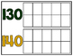 10-180 Ten Frame Number Chart: School Spirit - Green & Gold
