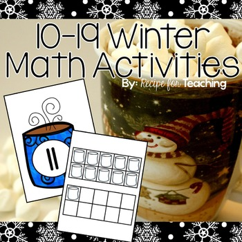 10-19 Winter Math Activities