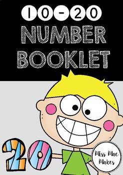 10-20 NUMBER BOOKLET