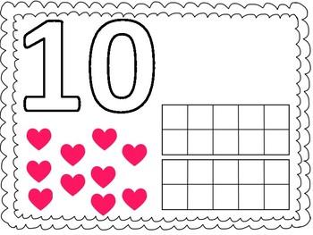 10 - 20 Play Dough Boards!