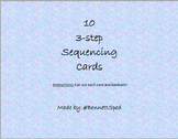 10 3-step Sequencing Cards
