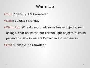 10.5 Density (introduction)
