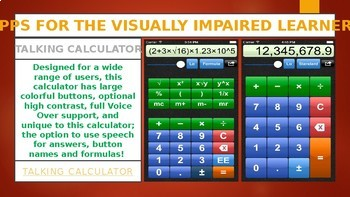 10 APPS FOR THE VISUALLY IMPAIRED LEARNERS