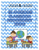 10 AWESOME Classroom Arrangement Ideas