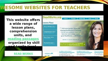 10 AWESOME WEBSITES FOR AWESOME TEACHERS