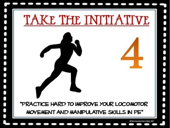10 Actions for Highly Successful PE Students- Printable Display Signs