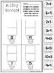 10 Adding Scoops Printable Worksheets in PDF file. Prek-1st Grade Math