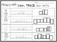 10 Adjectives Color and Writing Worksheets. Kindergarten-1
