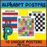 FREEBIES! 10 Alphabet Posters