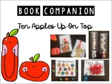 Ten Apples Up On Top - Book Companion- Letter A Preschool