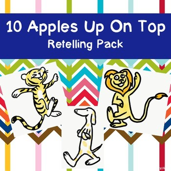 10 Apples Up On Top Retelling Pack