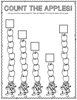 10 Apples Up On Top. Worksheets and Activities. Dr. Seuss. Ten