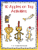 10 Apples on Top Activities