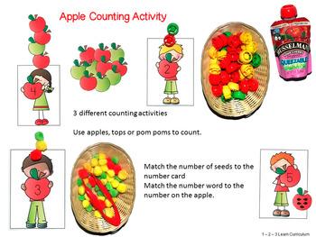 10 Apples on Top Activities