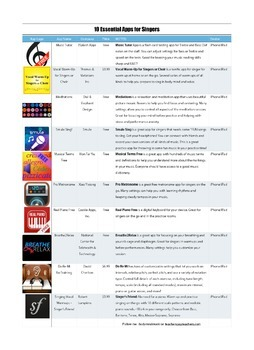 10 Apps for Singers