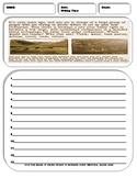 10 Argumentative/Persuasive Writing Prompt Sheets Pack 1