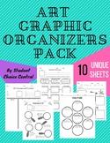 10 Art Graphic Organizers Pack