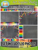 10 Art Supplies Stock Photos Pack Set 1 — Includes Commercial License!