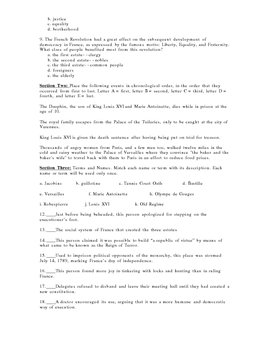 10 Assessments Rise of Democracy 10th  World History-10 test 1 file