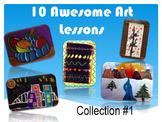 Art Lessons - 10 Awesome Art Lessons!