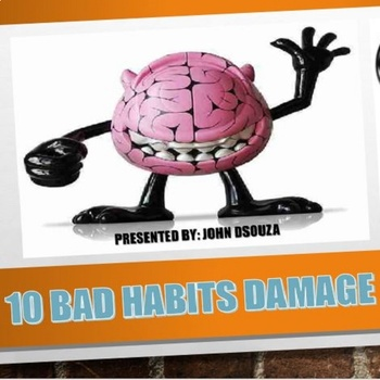 10 BAD HABITS THAT DAMAGE OUR BRAIN