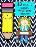 10 Back To School Themed Writing Prompts