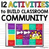 12 Back to School Community Building Activities Beginning