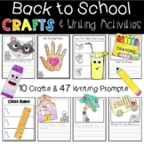 10 Back to School Crafts and 47 Writing Activities Book Co