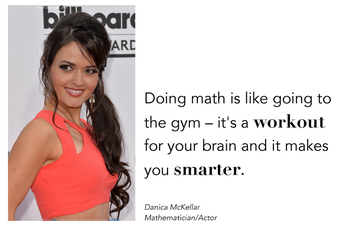 """10 Beautiful Math Quote Posters - Inspire and Motivate! 11"""" x 17"""""""