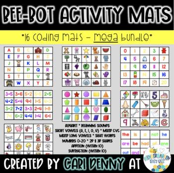 14 Bee-Bot Activity Mats
