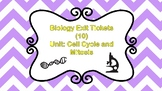 10 Biology Exit Tickets: Cell Cycle and Mitosis
