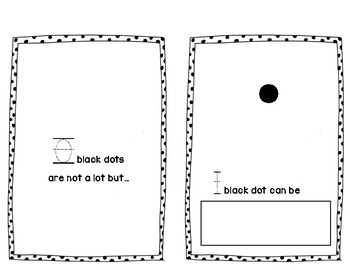10 Black Dots can be.. subtilizing activity book