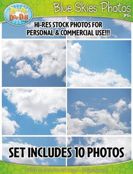 10 Blue Skies Stock Photos Pack — Includes Commercial License!