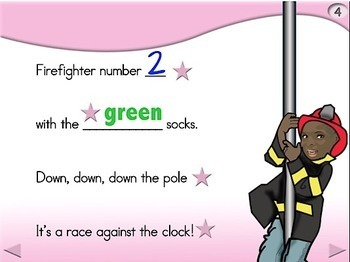 10 Brave Firefighters - Animated Step-by-Step Poem