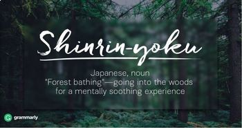 10 Breathtaking Foreign Words