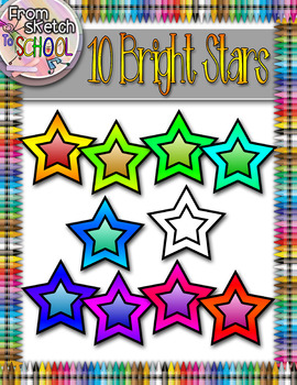 10 Bright Stars {From Sketch to School}