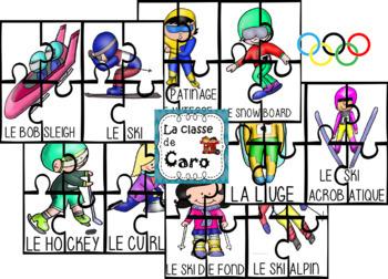 10 CASSE-TÊTE - LES JEUX D'HIVER (FRENCH - FSL)