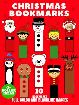 10 CHRISTMAS BOOKMARKS | CHRISTMAS CRAFTS FOR KIDS